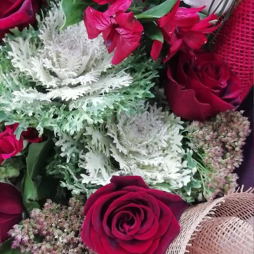 """""""Горький шоколад"""": букеты цветов на заказ Flowwow"""