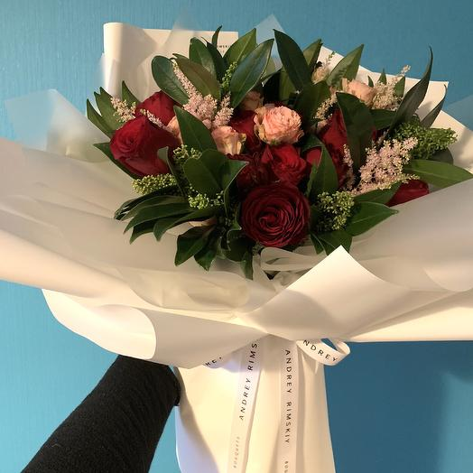 Pamela Bouquet: букеты цветов на заказ Flowwow