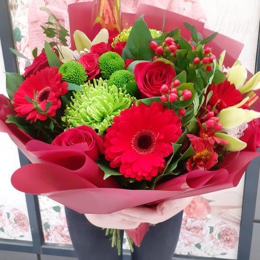 """Bouquet """"Flower fields"""": flowers to order Flowwow"""