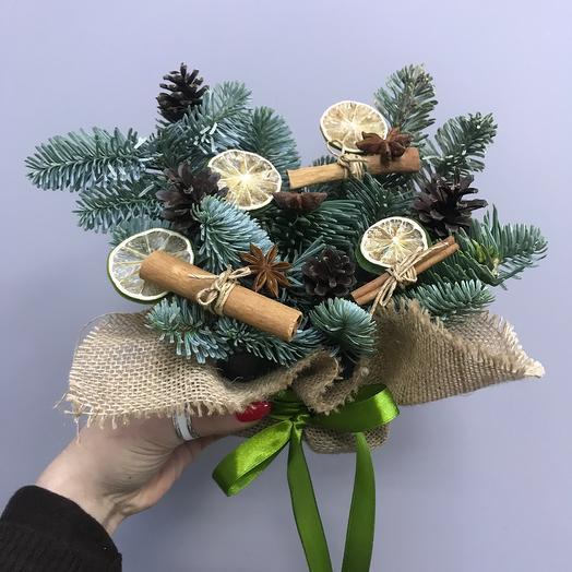 Новогодний чай: букеты цветов на заказ Flowwow
