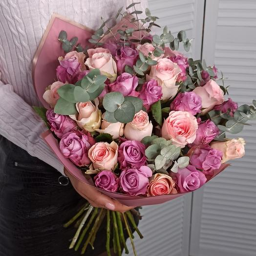 Плюш: букеты цветов на заказ Flowwow