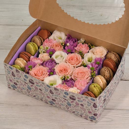 Candy box: букеты цветов на заказ Flowwow