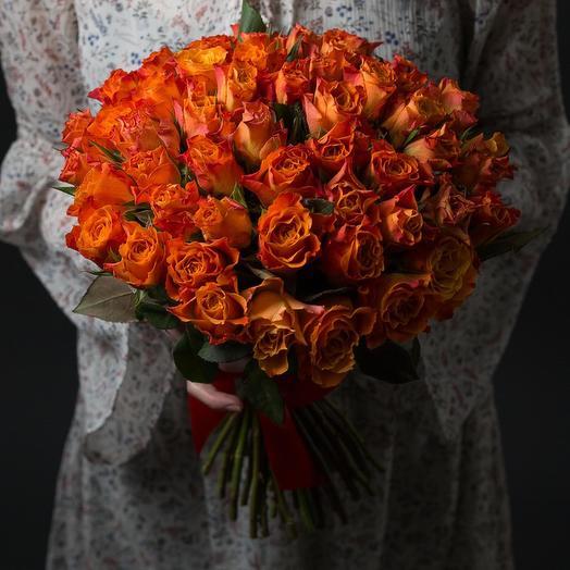 51 Рыжая роза Кенийская