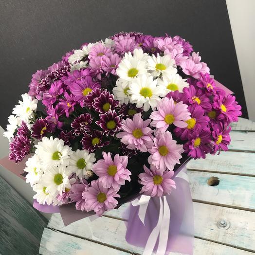 Охапка хризантемы: букеты цветов на заказ Flowwow
