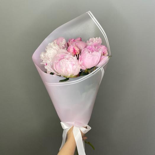 Нежность пионов: букеты цветов на заказ Flowwow
