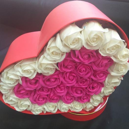 """Композиция """"сердце"""": букеты цветов на заказ Flowwow"""