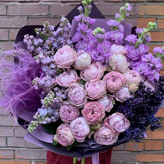 Букет цветов «Яркое настроение»