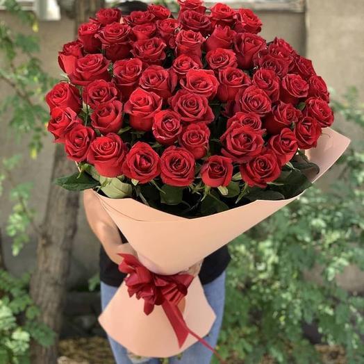 Шикарный букет 51 Роза