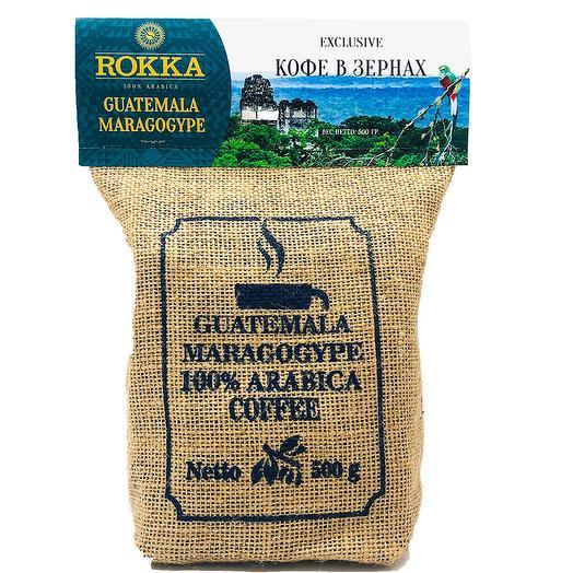 """Кофе в зернах """"Rokka"""" Марагоджип Гватемала"""