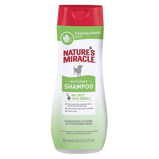 Nature s Miracle шампунь для собак светлых пород, аромат цветущего миндаля 473мл