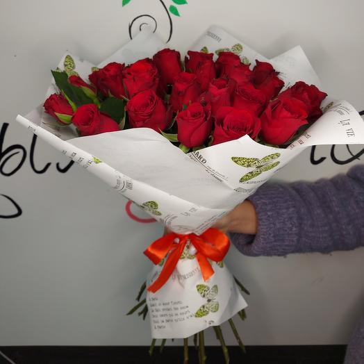"""Букет """"25 красных крымских роз"""""""