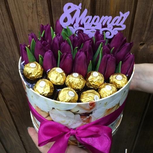 Tulip in a box 005 19 pcs