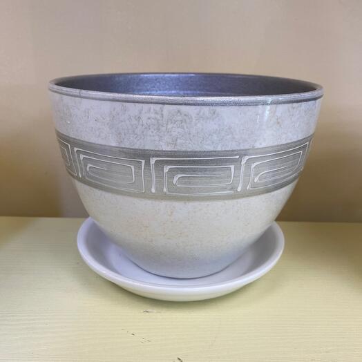 Горшок керамический d 15 см