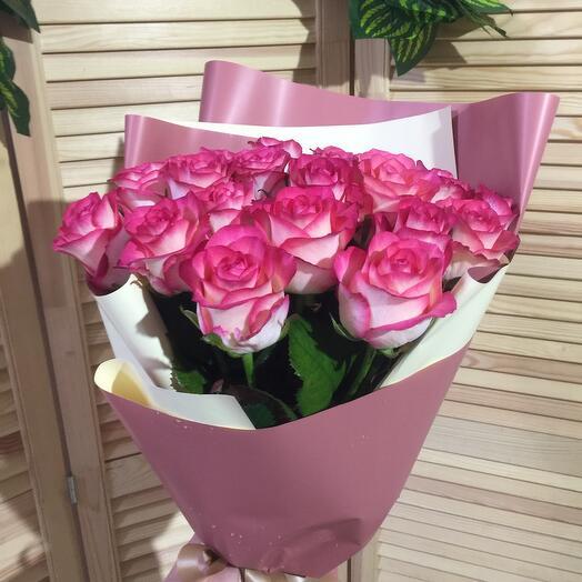 Букет Джулия в розовом