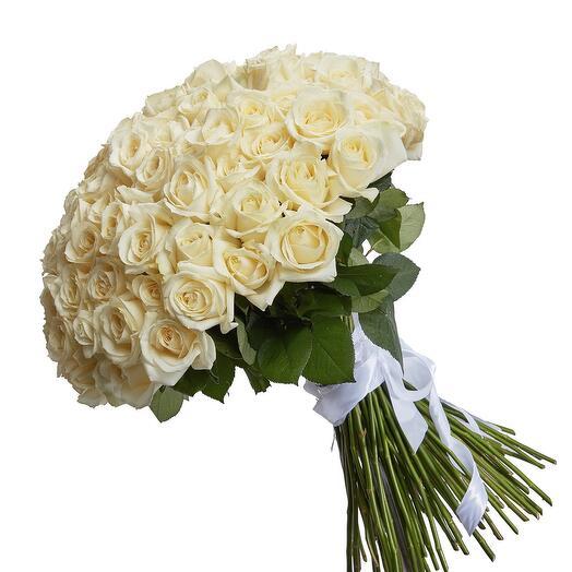 Розы 101 штука 60 см