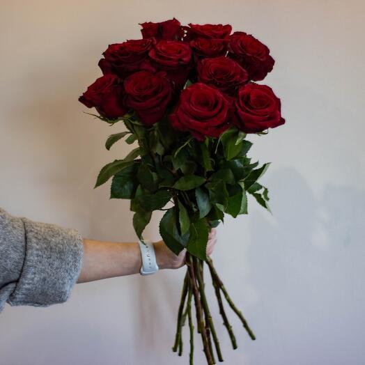 Акция! Красные розы 60 см Эквадор