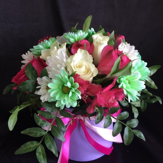 Цветы в коробке  Вероника  1