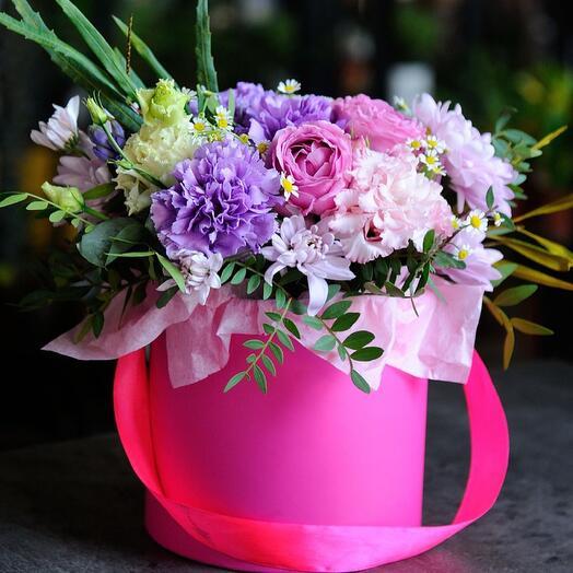 Цветы в коробке Prance
