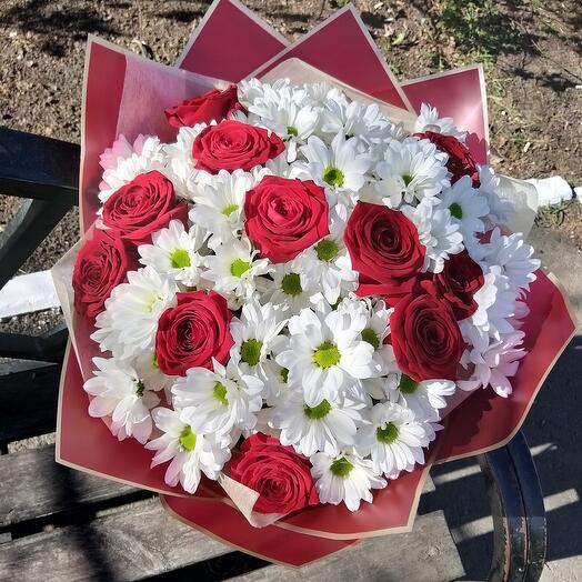 """Букет цветов  """"Спешу к тебе"""""""