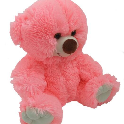 Мишка 50 см «Бейли» розовый