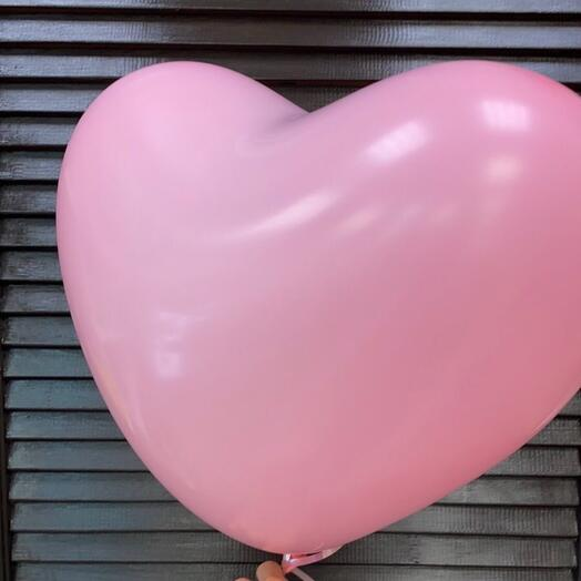 Шар резиновое сердце