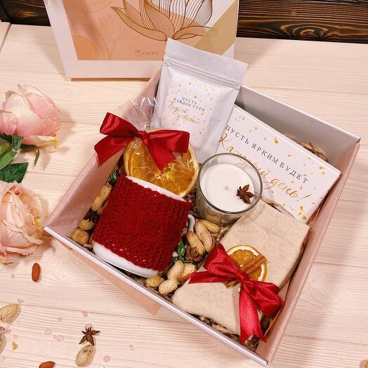 Подарочный набор «Уютный»/ женский подарок