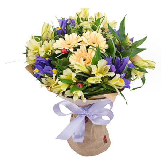 Напоминание о лете: букеты цветов на заказ Flowwow