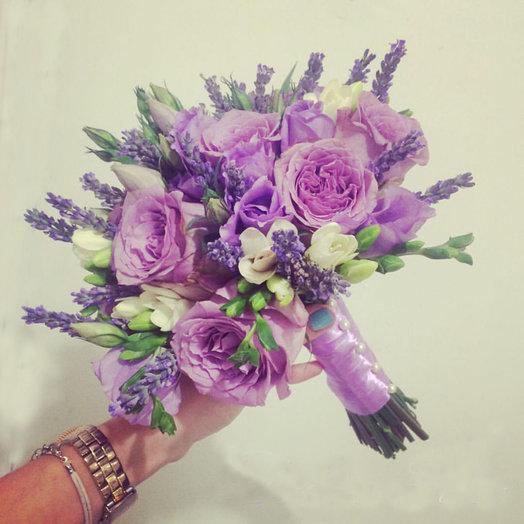 Лаванда в розах / Lavender in roses