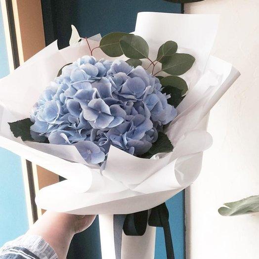 Гортензия в тишью: букеты цветов на заказ Flowwow