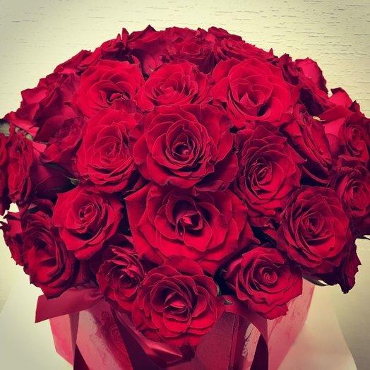 Коробка роз Престиж: букеты цветов на заказ Flowwow