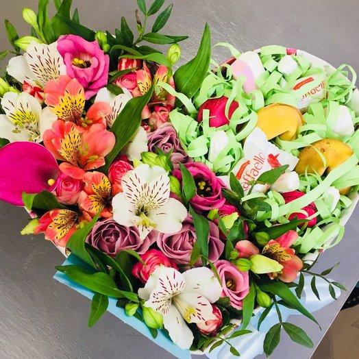 Конфетно-букетный: букеты цветов на заказ Flowwow