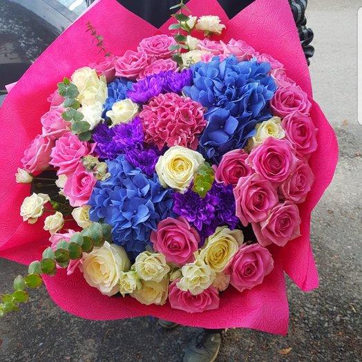 Красивый огромный Микс: букеты цветов на заказ Flowwow