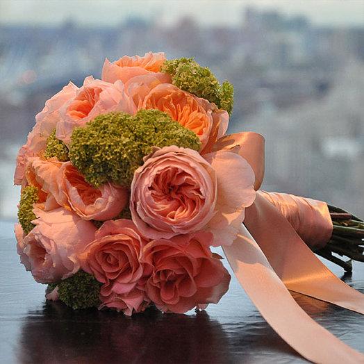 Букет невесты из пионы доставка москва #11
