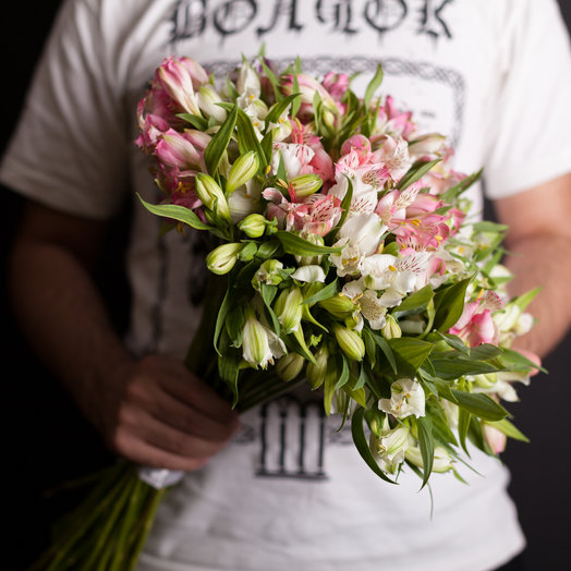 Альстромерия 35 шт: букеты цветов на заказ Flowwow