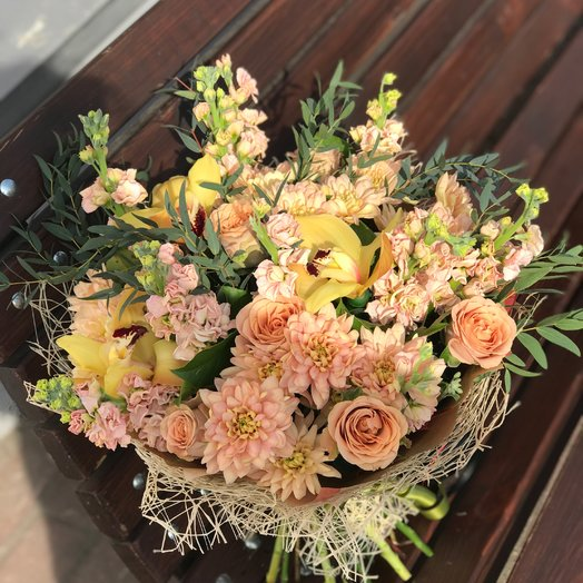 Кофе в постель: букеты цветов на заказ Flowwow