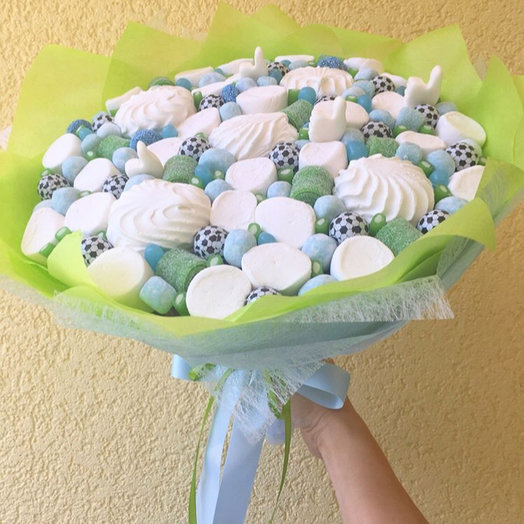 Букет из зефира : букеты цветов на заказ Flowwow