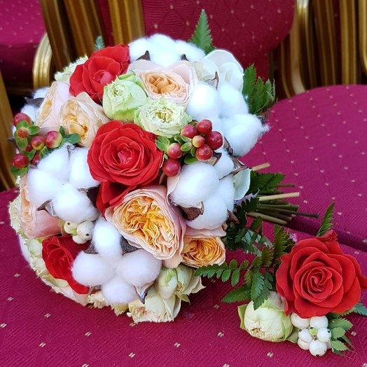 Свадебный набор: букеты цветов на заказ Flowwow