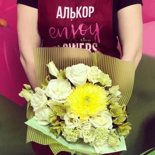 Букет Лимончик🍋: букеты цветов на заказ Flowwow