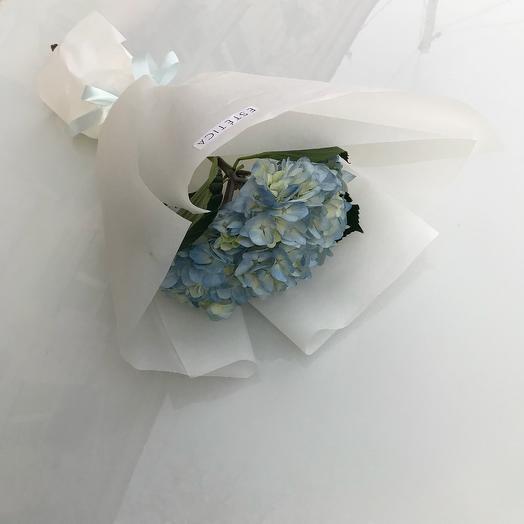 Стильный букет из гортензии: букеты цветов на заказ Flowwow