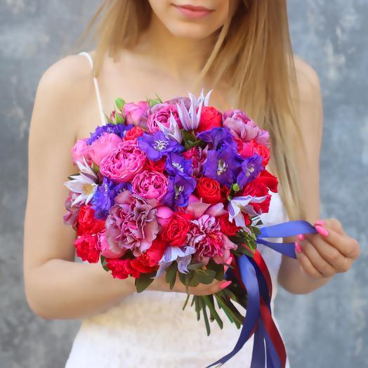 Букет невесты 01: букеты цветов на заказ Flowwow