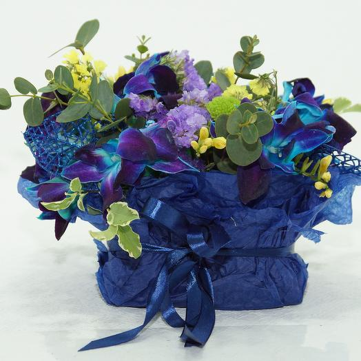 Комплимент из орхидеи: букеты цветов на заказ Flowwow