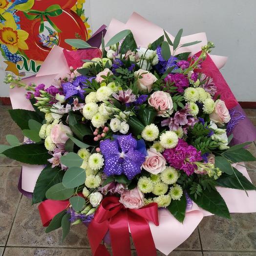 "Букет ""Ярче слов"": букеты цветов на заказ Flowwow"