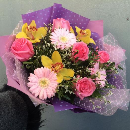 Русалка: букеты цветов на заказ Flowwow