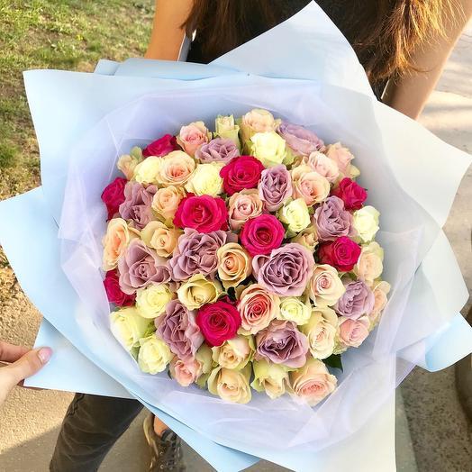 Букет « Нежная Мери»: букеты цветов на заказ Flowwow