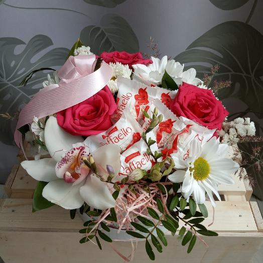 Раффаэлло: букеты цветов на заказ Flowwow