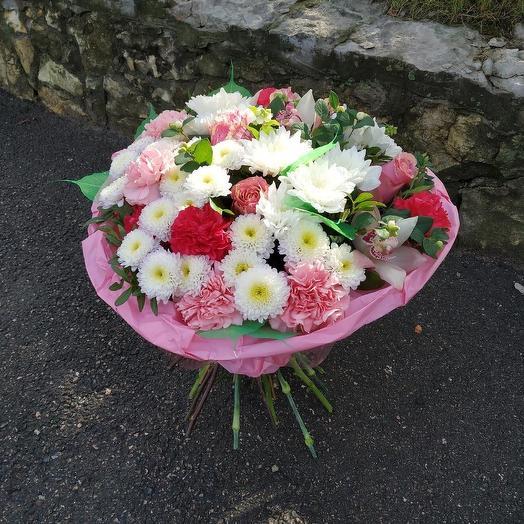 "Букет ""Зефирка"": букеты цветов на заказ Flowwow"