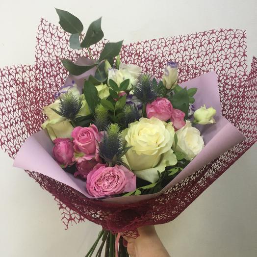 Букет « Вдохновение»: букеты цветов на заказ Flowwow