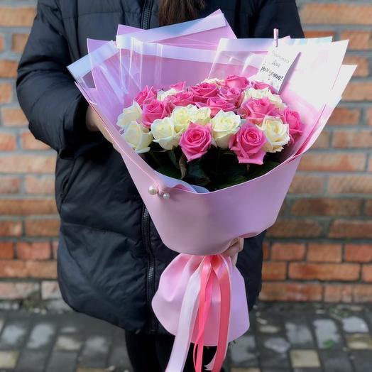 Букет из российских роз