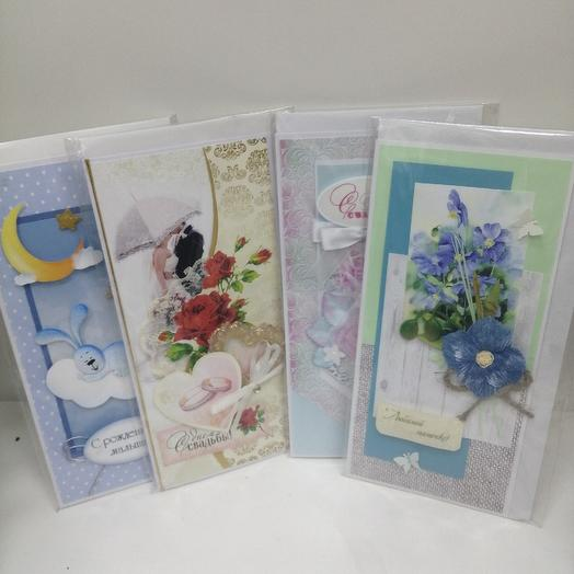 Ф открытки ручной работы: букеты цветов на заказ Flowwow