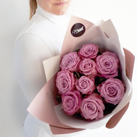 Лавандовые розы